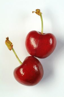 Free Red Cherries Royalty Free Stock Photography - 9818567