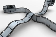 Free Film Reel Royalty Free Stock Image - 9818606