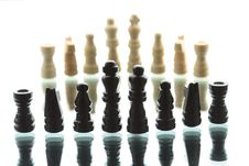 Free Chess Game Royalty Free Stock Photo - 9818685