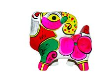 Free Colored Sheep Made Of Clay Royalty Free Stock Image - 9818796