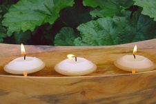 Free Floating Candles Stock Photo - 9819390
