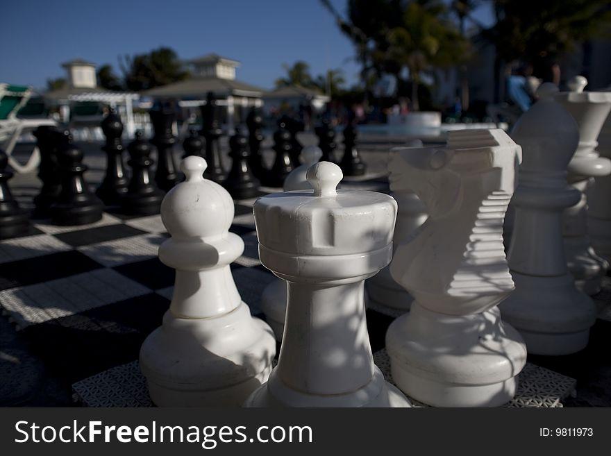 Chess game in cuba