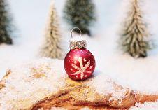 Free Christmas Bauble Stock Image - 98169861