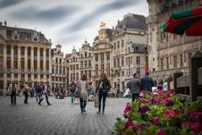 Free Brussels Grote Markt Stock Photo - 98169890