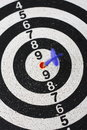 Free Dartboard Royalty Free Stock Images - 9821699