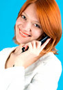 Free Girl With Phone Royalty Free Stock Photo - 9823625