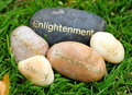 Free Stones In The Grass Stock Photography - 9823642