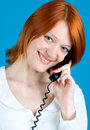 Free Girl With Phone Royalty Free Stock Photos - 9823758