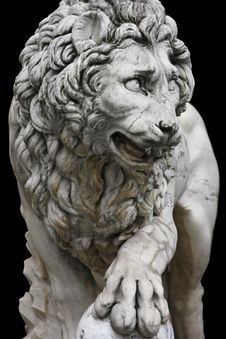 Free Lion In Florence Stock Photography - 9820622