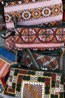 Handmade Decorative Bags Stock Photos