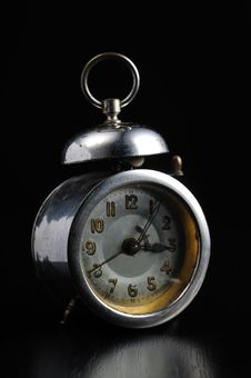 Free Old Alarm Clock Stock Photography - 9821252