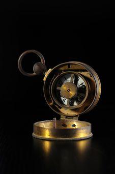Free Old Alarm Clock Royalty Free Stock Image - 9821276