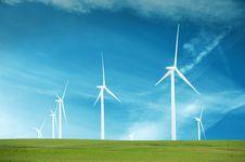Free Wind Turbines Stock Photo - 9822230