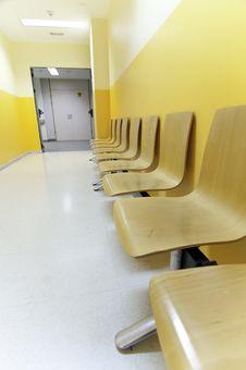 Hospital Corridor Royalty Free Stock Images