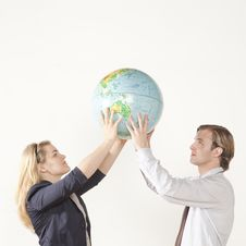 Free The Whole World In Our Hands Stock Photography - 9822372
