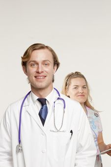 Free Doctor In Focus Royalty Free Stock Photography - 9822567