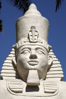 Replica Statue Of Ramses II Stock Image