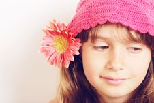 Free Flower Girl Royalty Free Stock Photo - 9823115