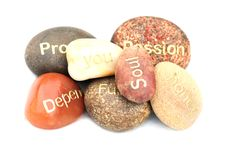Free Conceptual Pebbles Stock Images - 9823934