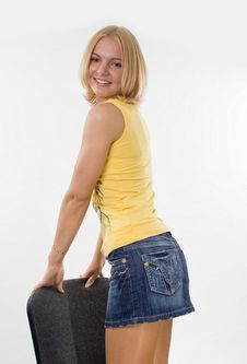 Free Beautiful Blond Royalty Free Stock Photography - 9824117
