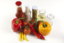 Free Different Fresh Tasty Vegetables Royalty Free Stock Image - 9824166