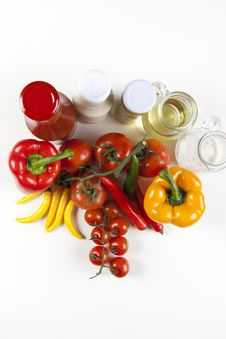 Free Different Fresh Tasty Vegetables Stock Images - 9824194