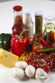 Different Fresh Tasty Vegetables