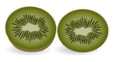 Free Kiwi Slices Royalty Free Stock Photos - 9824518