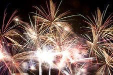 Free Fireworks Four Royalty Free Stock Image - 9825526