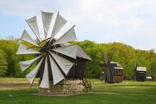 Free Windmill Stock Images - 9826254