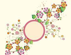 Free Blooming Circle Stock Photography - 9826312