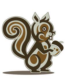 Free Cute Brown Squirrel Stock Photos - 9826343