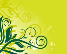 Free Floral Background Royalty Free Stock Photos - 9826868