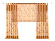 Free Curtains Royalty Free Stock Photography - 9827147