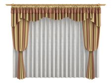 Free Curtains Stock Images - 9827174