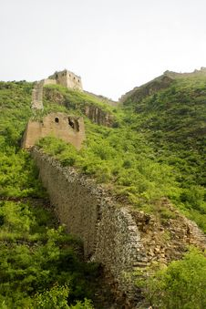 Free Great Wall Of China Royalty Free Stock Images - 9828569