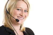 Free Call Center Operator Royalty Free Stock Images - 9829409