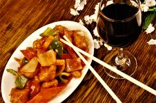 Free Chinese Food Restaurant Royalty Free Stock Photos - 98221778