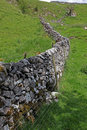 Free Dry Stone Wall In Derbyshire England Royalty Free Stock Photo - 9834625