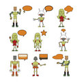 Free Funny Robots Stock Photography - 9839902
