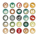 Free Circle Buttons Stock Image - 9839921