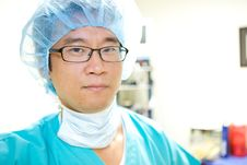 Free Asian Doctor Royalty Free Stock Photo - 9830355