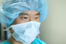 Free Asian Doctor Stock Photography - 9830452