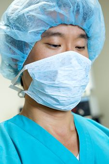 Free Asian Doctor Royalty Free Stock Photo - 9830485