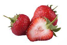 Free Strawberry Royalty Free Stock Photos - 9830558