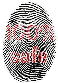 Free Safe Fingerprint Stock Photos - 9832033