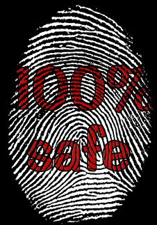 Free Safe Fingerprint Stock Photos - 9832053