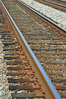 Free A View Up The Tracks Royalty Free Stock Photography - 9832307