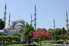 Free Blue Mosque, Istanbul Royalty Free Stock Images - 9832649