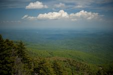 Free Mountains In North Carolina, USA Royalty Free Stock Photography - 9833157